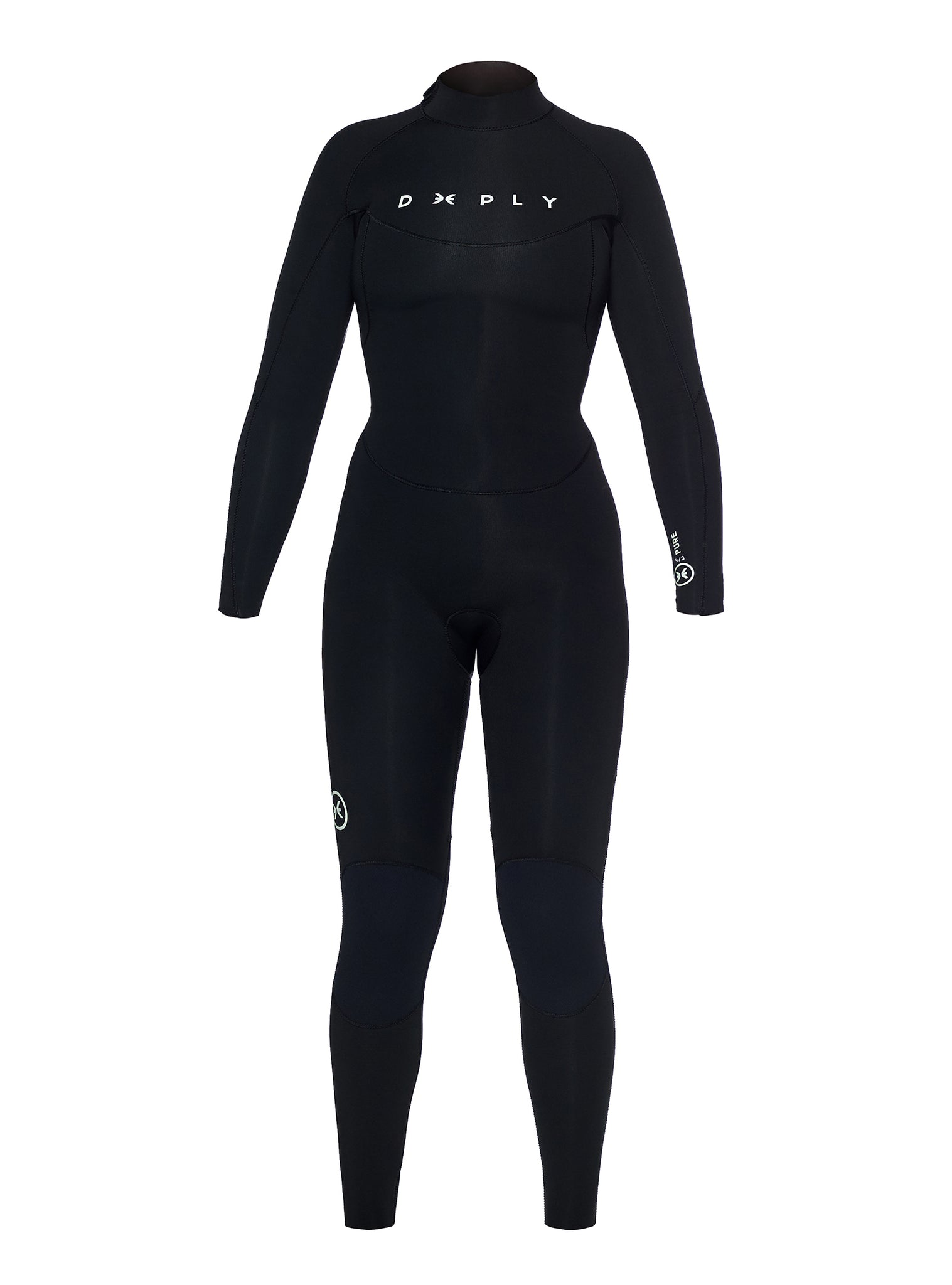 Wetsuit Woman Pure 4/3 Back Zip Black