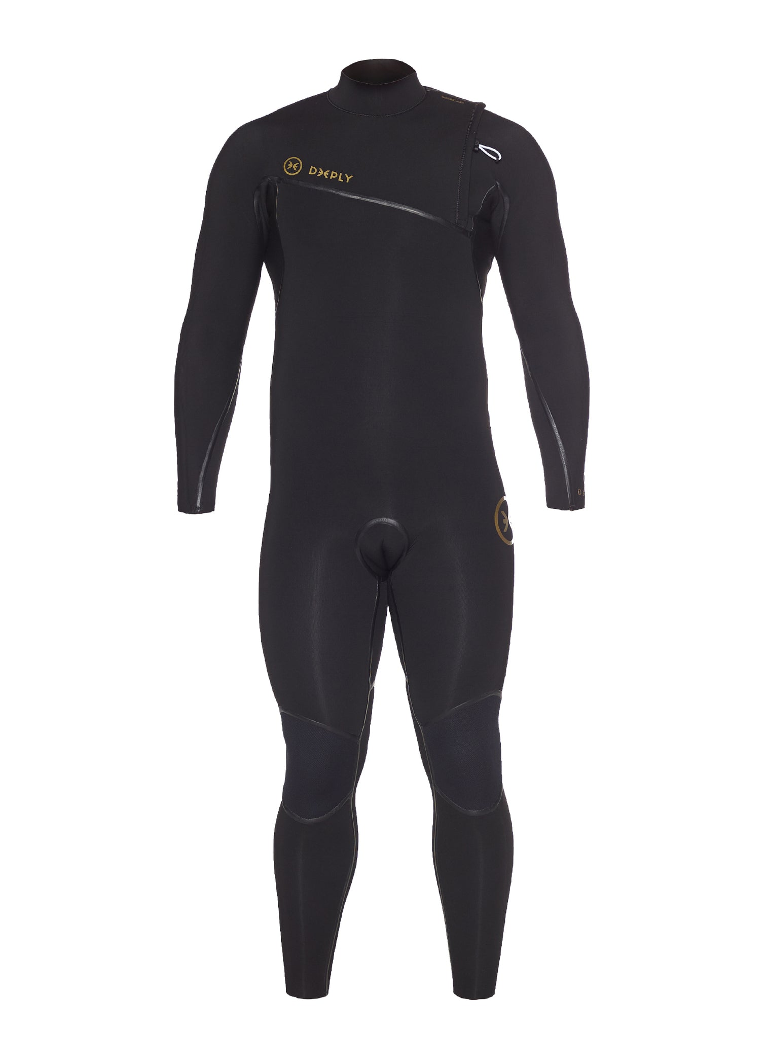 Wetsuit Man Competition 5/3 Zipperless Black