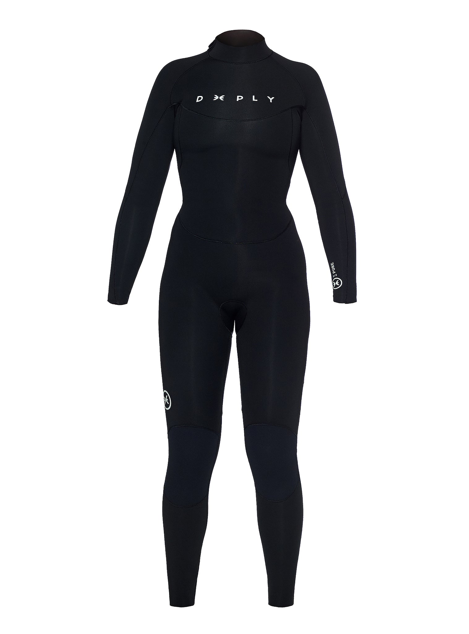 Wetsuit Woman Pure 3/2 Back Zip Black