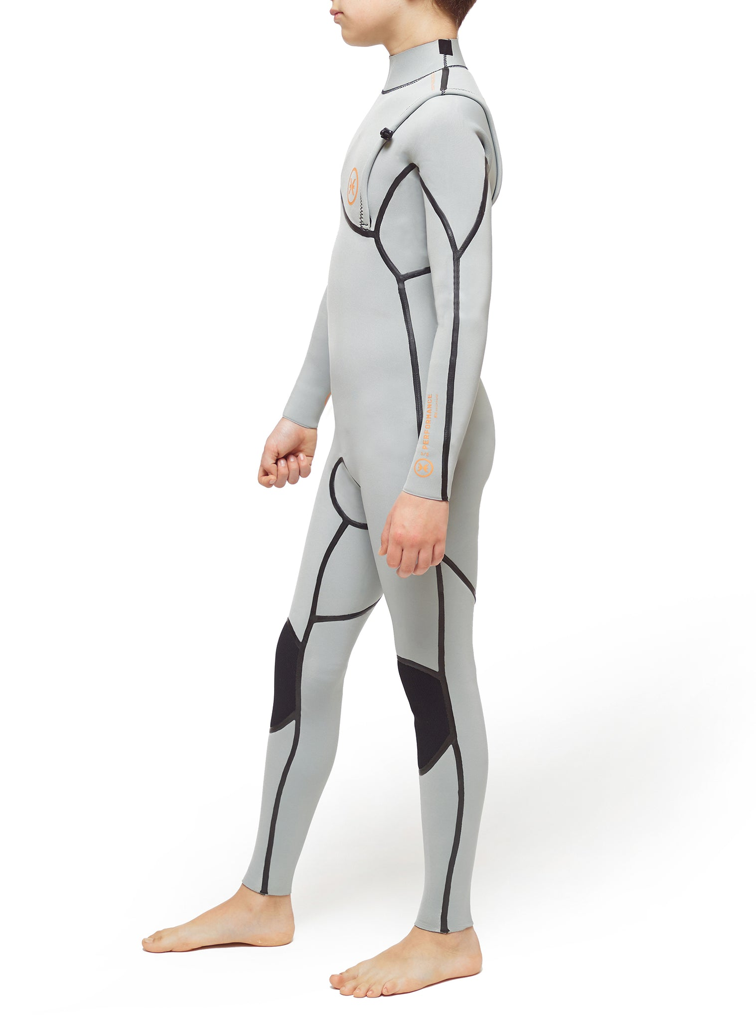 Wetsuit Junior Performance 3/2 Zipperless Silver