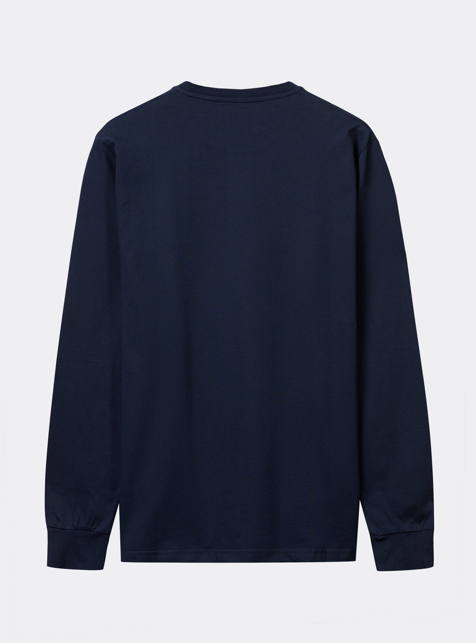 Techno 2 Tee L/s Dark Blue