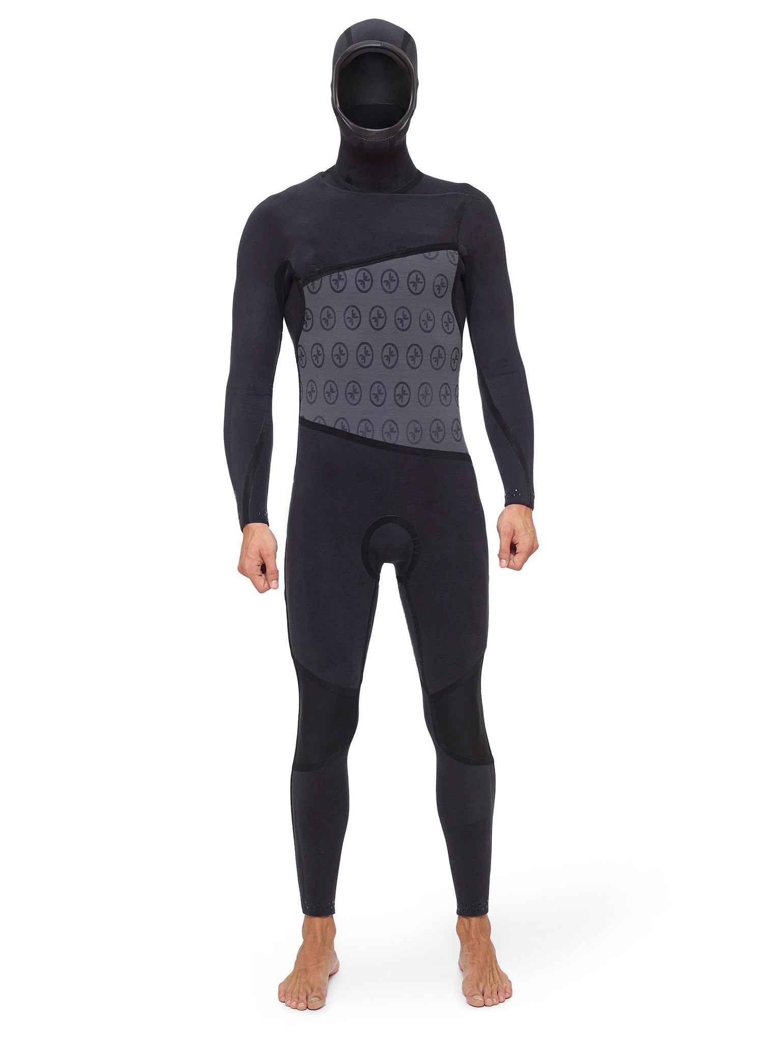 Wetsuit Man Competition 5/4 Zipperless Black