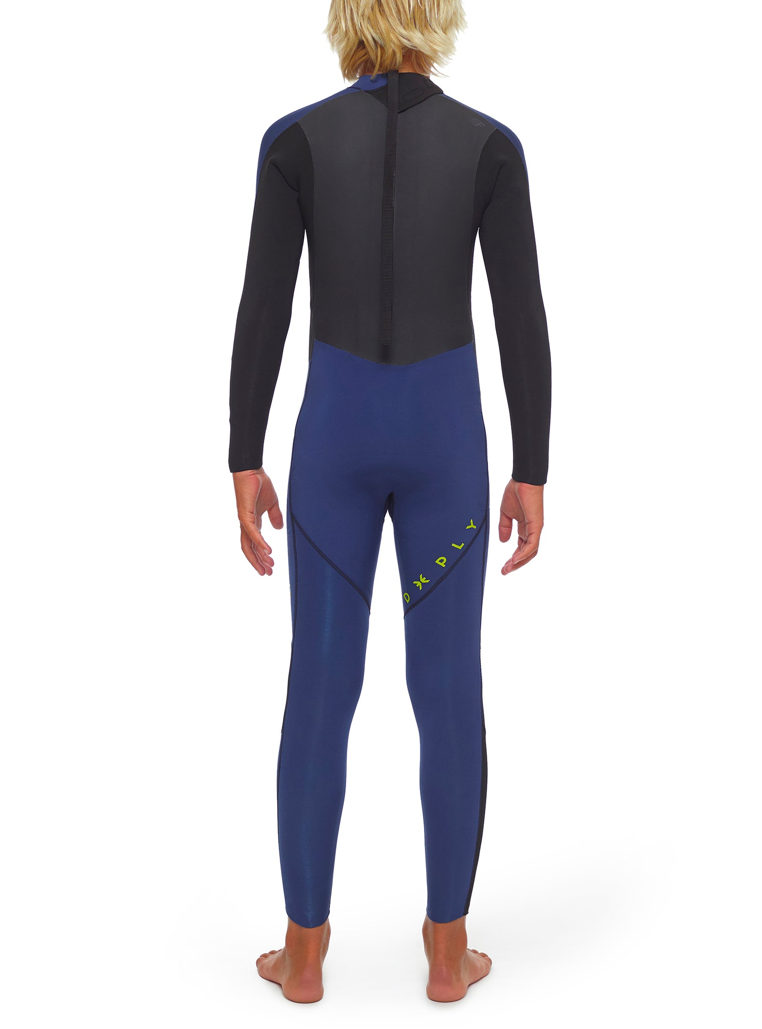 Wetsuit Junior Premium 4/3 Back Zip Dark Blue