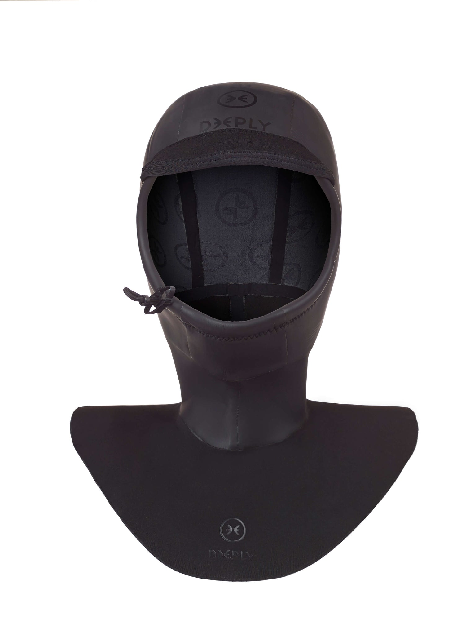 Surf Hood 2mm Graphene Surf Hoods Black