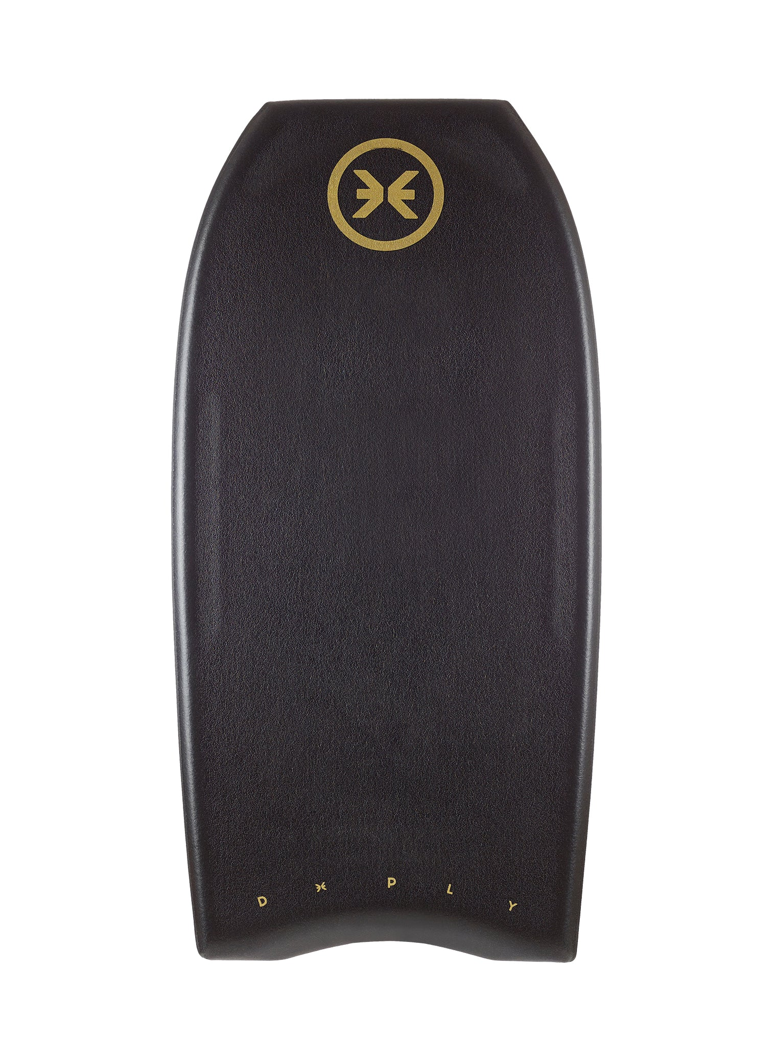 Quad Concave Bodyboard Black