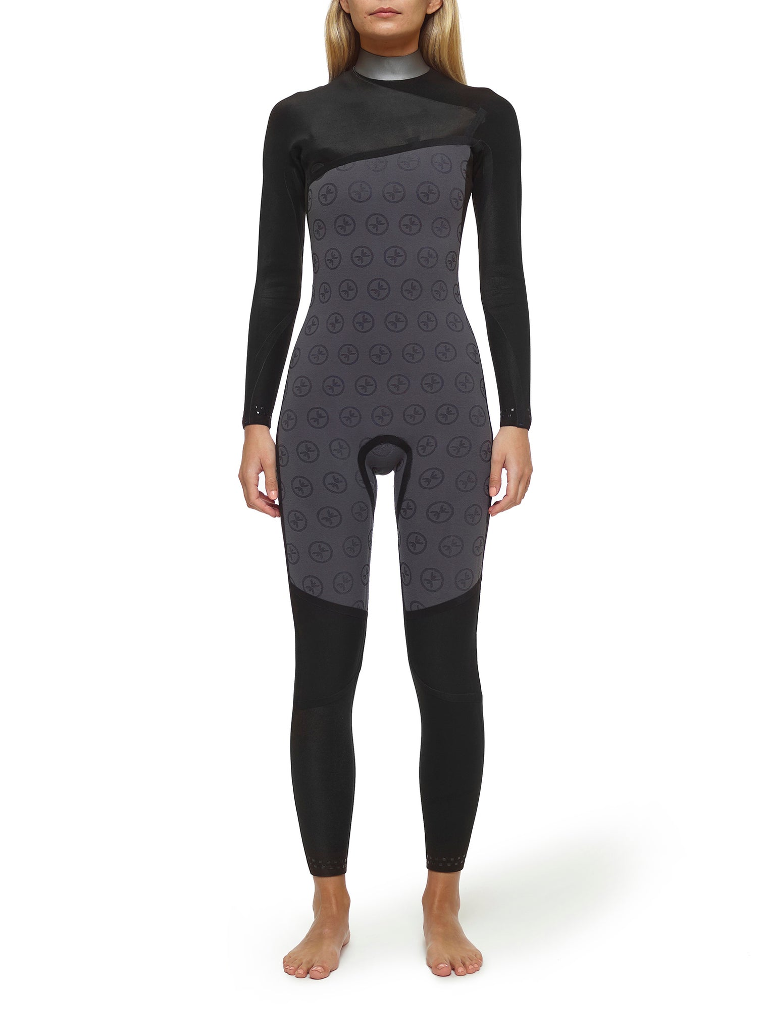 Wetsuit Woman Competition 3/2 Zipperless Dark Blue