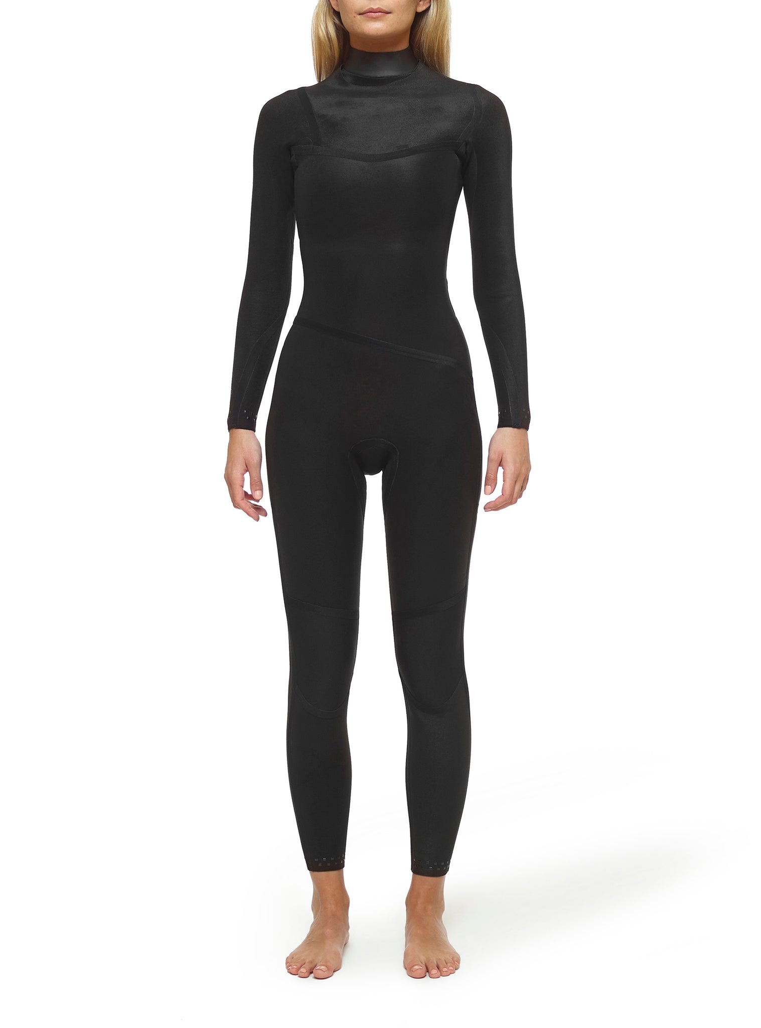 Wetsuit Woman Premium 3/2 Chest Zip Multicolour