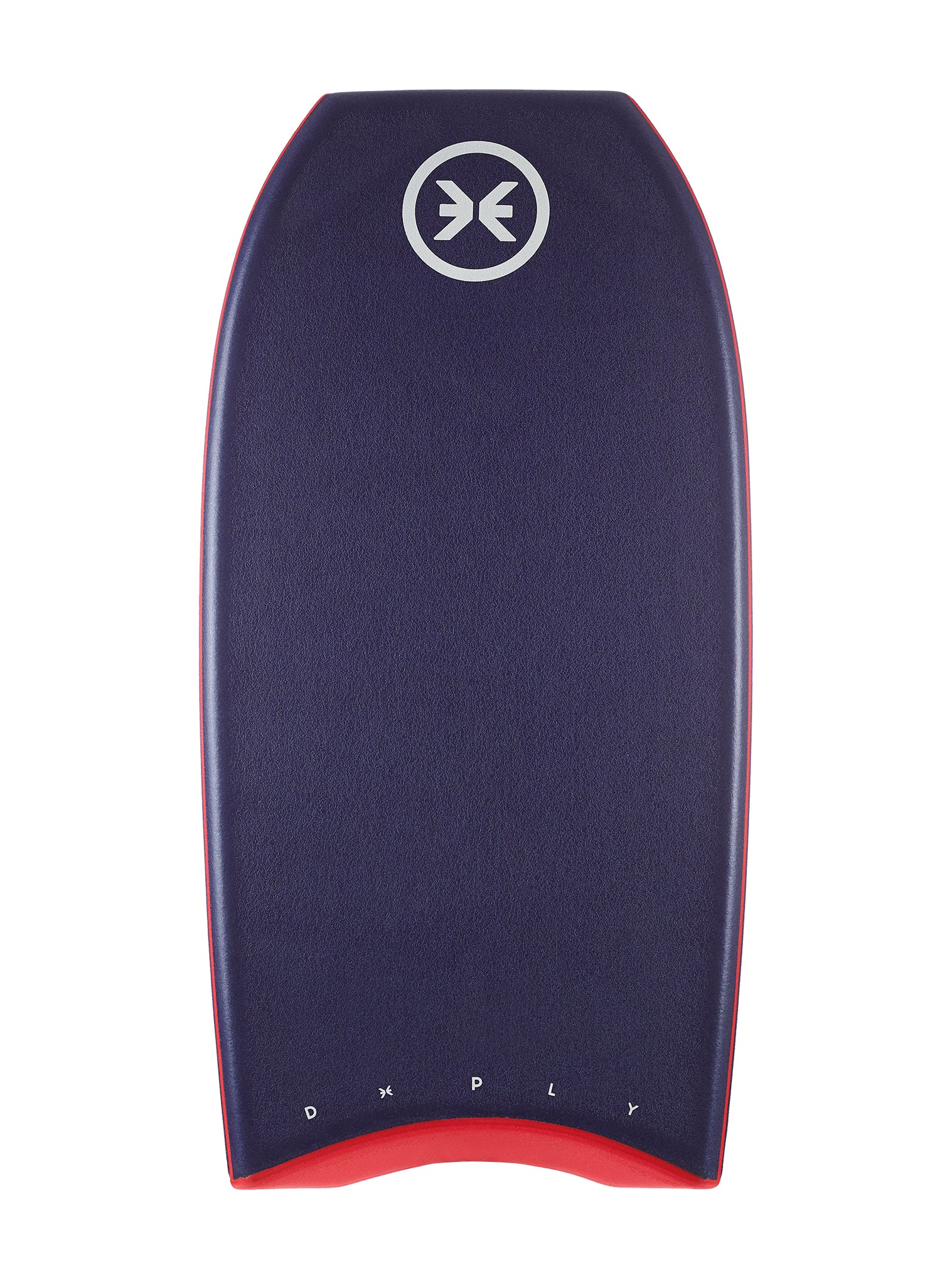 Double Concave Bodyboard Red