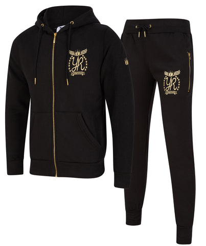 Yung'n'Rich Tracksuit Black Gold Edition