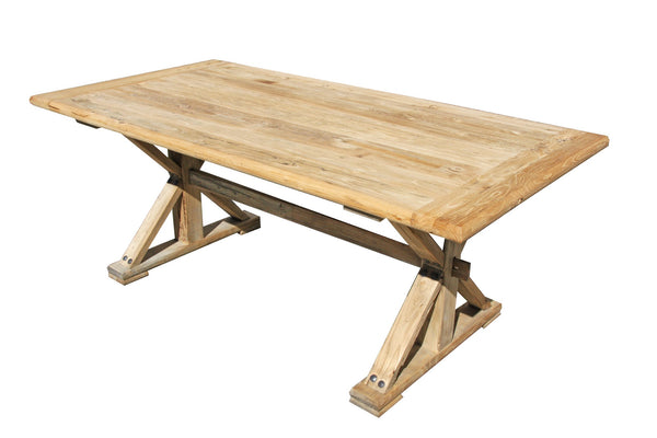 Chinese Elm Dining Table