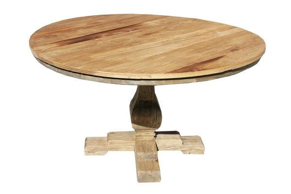 Chinese Elm Dining Table Round 140cm