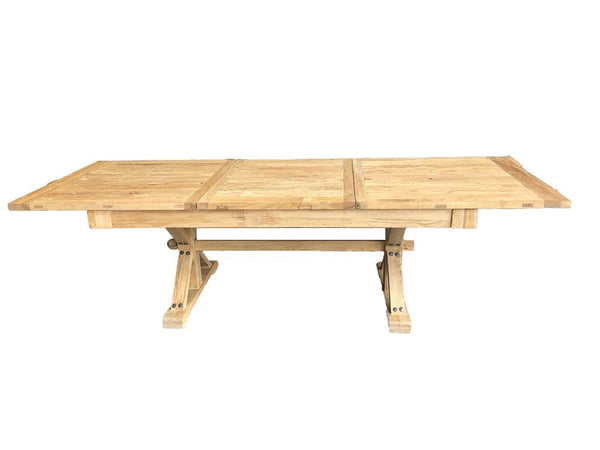 Chinese Elm Extension Dining Table