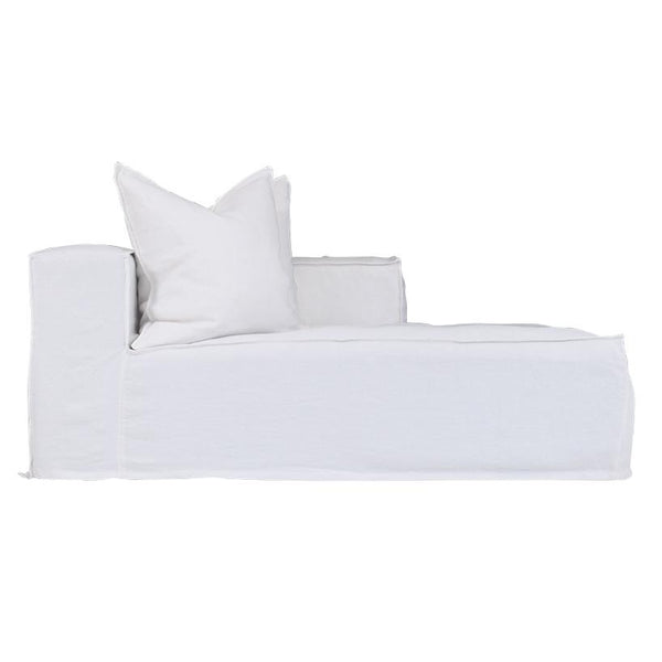 Hendrix Sofa Chaise Uniqwa Furniture White