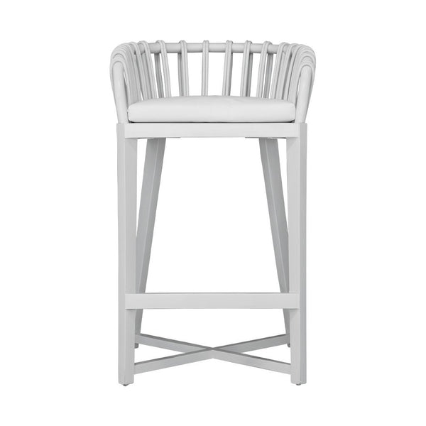 Malawi Tub Barchair White Uniqwa Furniture