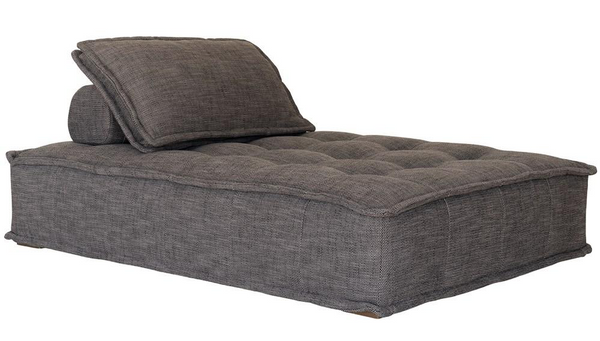 Collins Sofa Chaise Dark Grey Uniqwa Furniture