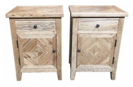 Oakwood Bedsides Left and Right