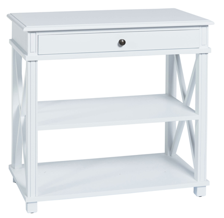 Manto Bedside White Large