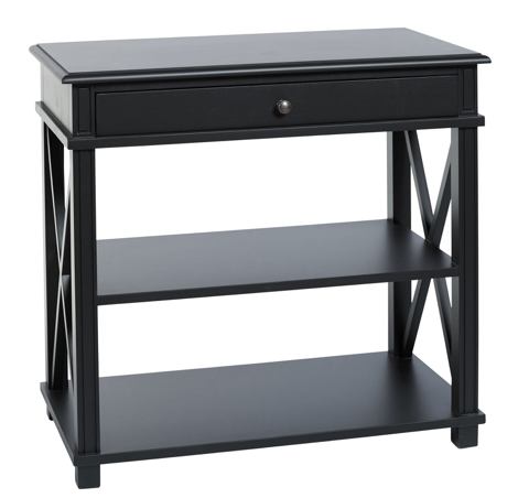 Manto Bedside Black Large