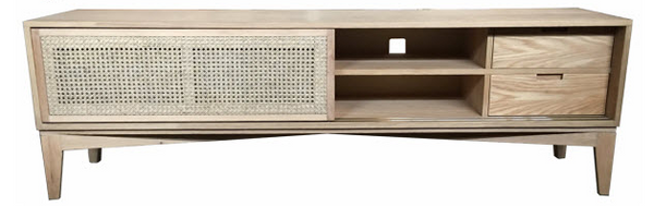 Calabash Oak Entertainment Unit 180cm