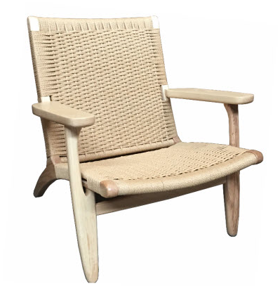 Calabash Oak Occasional Chair Low