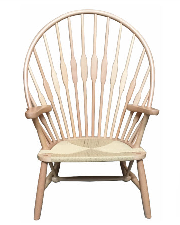 Calabash Oak Occasional Chair Tall