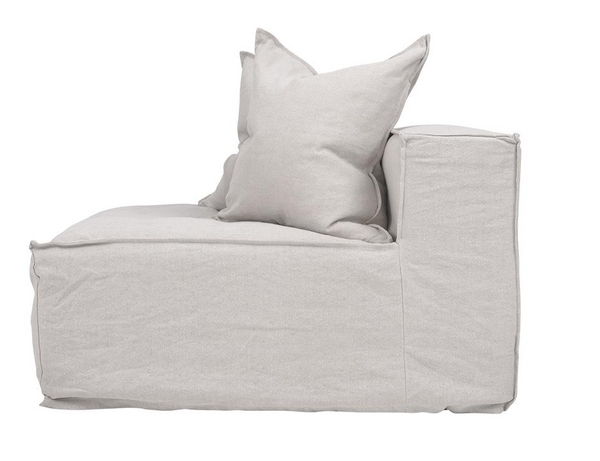 Hendrix Sofa Middle Uniqwa Furniture Sand