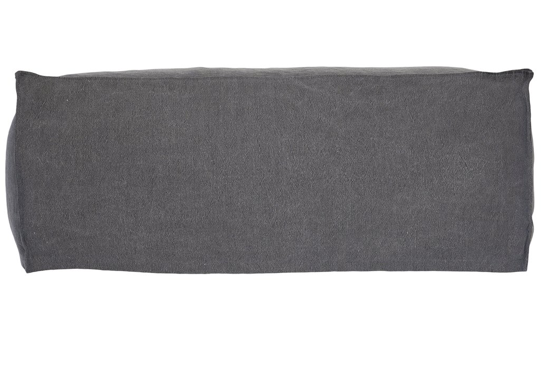 Hendrix Sofa Ottoman Uniqwa Furniture Charcoal