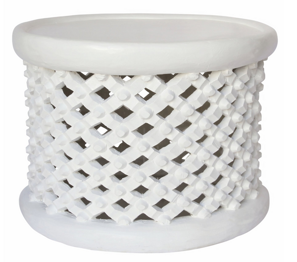 Bamileke Table White