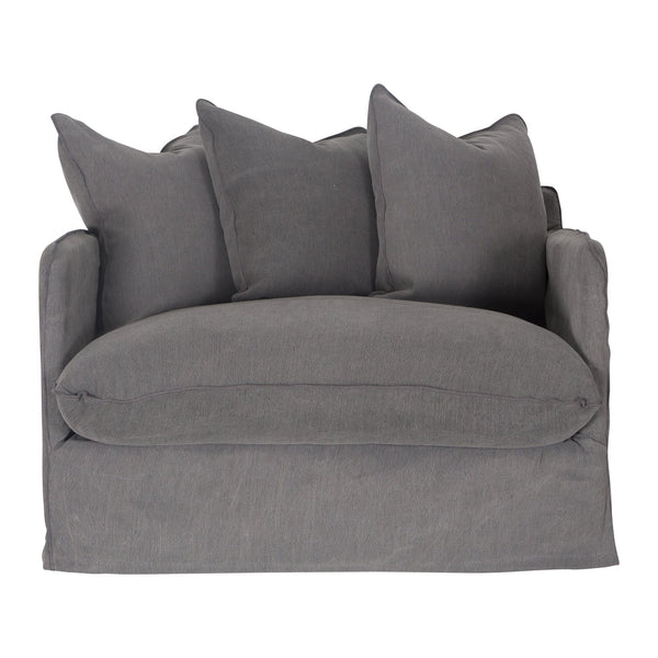Singita Sofa Armchair Charcoal Uniqwa Furniture