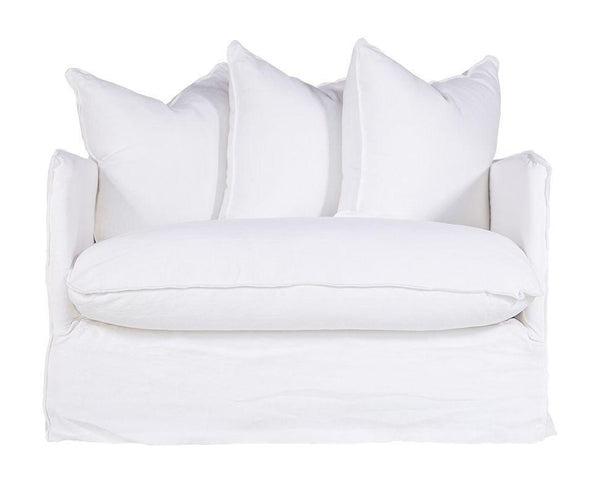 Singita Sofa Armchair White Uniqwa Furniture