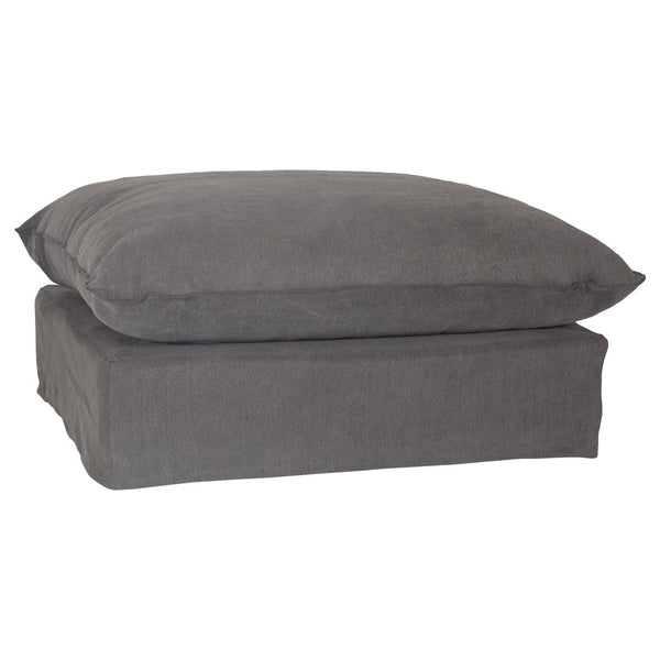 Singita Ottoman Charcoal Uniqwa Furniture