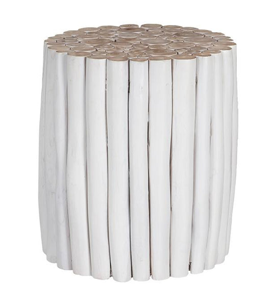 Takke Side Table White Uniqwa Furniture