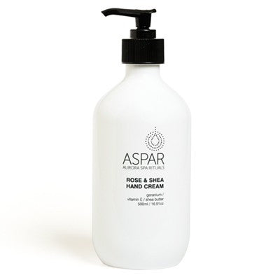 ASPAR Rose & Shea Hand Cream 500ml