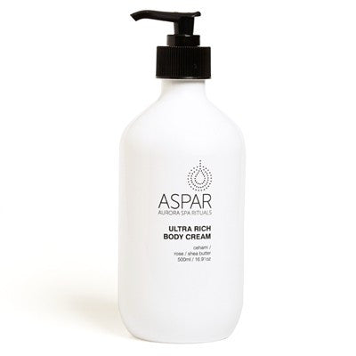 ASPAR Ultra Rich Body Cream 500ml