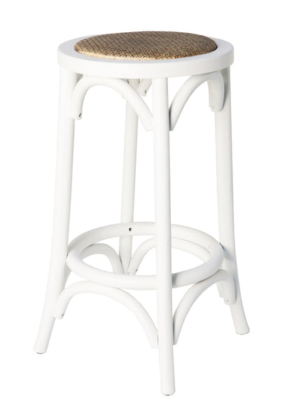 Plantation Breakfast Stool White
