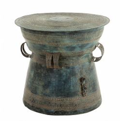 Burmese Bronze Drum