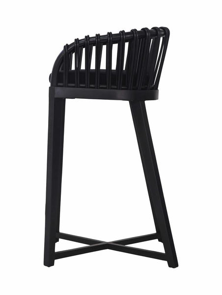 Malawi Tub Barchair Black Uniqwa Furniture