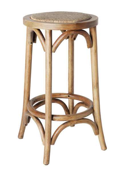 Plantation Breakfast Stool Natural