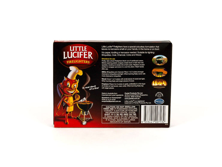 Little Lucifer 24 Cube Firelighters