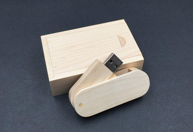 USB Wooden Flash Box USB Flash Drive