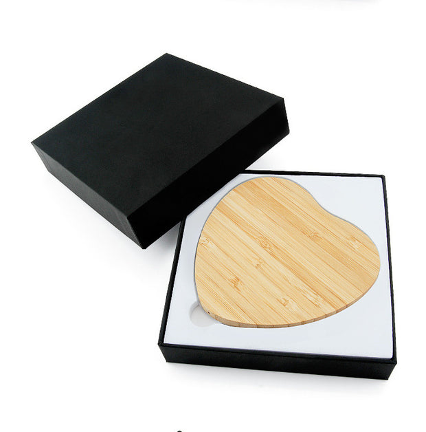 Natural Forest Bamboo USB Wireless Charger