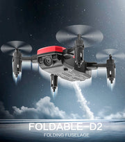 Foldable Mini Drone With RC Quadrocopter With Camera