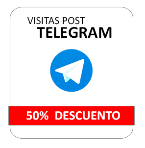 Comprar Visitas Post Telegram