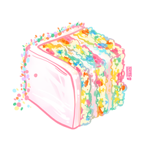 Load image into Gallery viewer, Happy Birthday Confetti Cake Cube