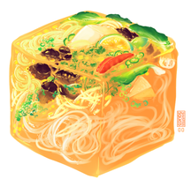 Load image into Gallery viewer, Pho Soup Cube