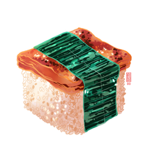 Load image into Gallery viewer, Spam Musubi Cube