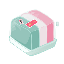 Load image into Gallery viewer, Tri-Color Mochi Cube