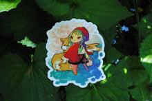 Load image into Gallery viewer, Red Riding Hood in Chinese Dress