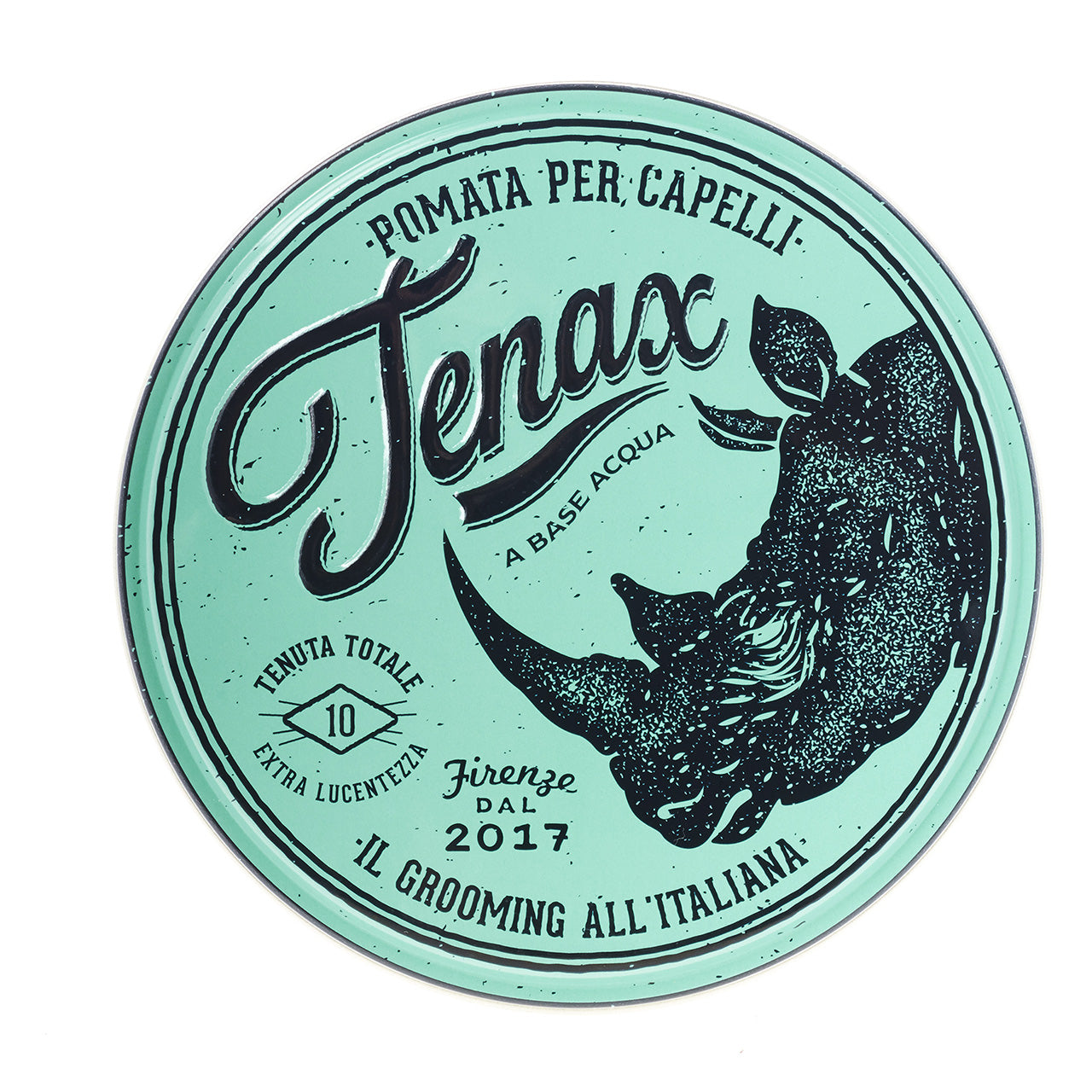 TENAX - #8 Extra Strong Hold Pomade - 4.5 oz
