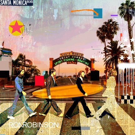 BEATLES SANTA MONICA <br /> by Mark Andrew Allen